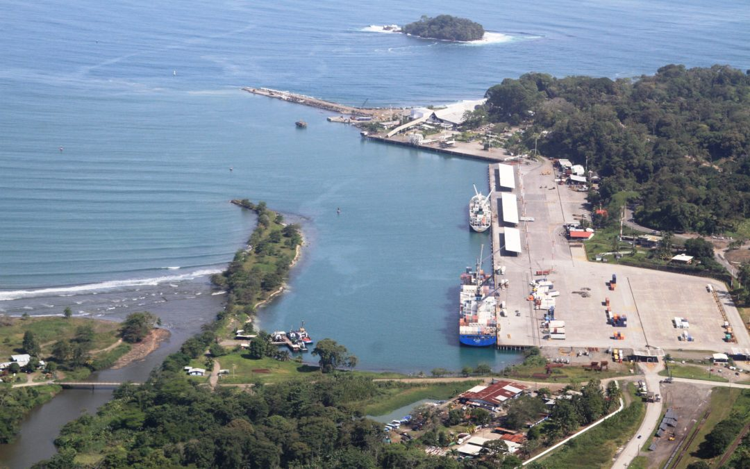 High power siren system for the oil dock in Moin, Costa Rica